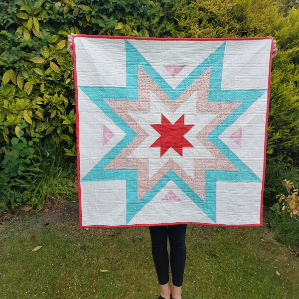 Expanding Star Quilt Stitch And Run